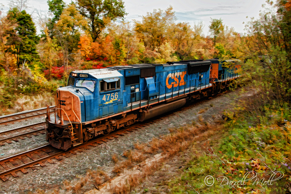 CSX Line Heading into Willard