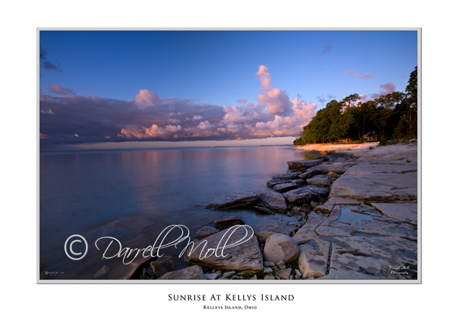 Sunset at Kelleys Island