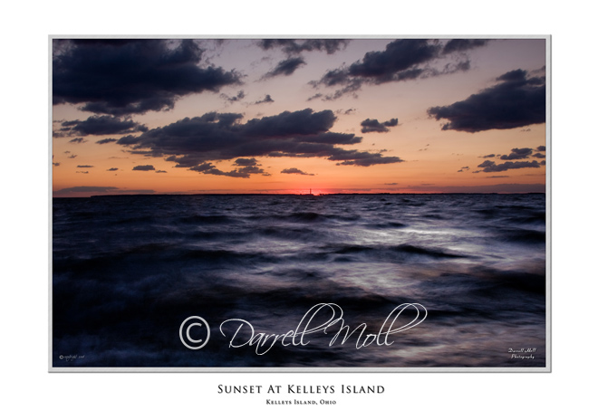 Sunrise at Kelleys Island