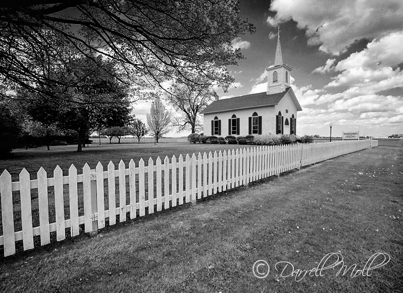 Fence & Church