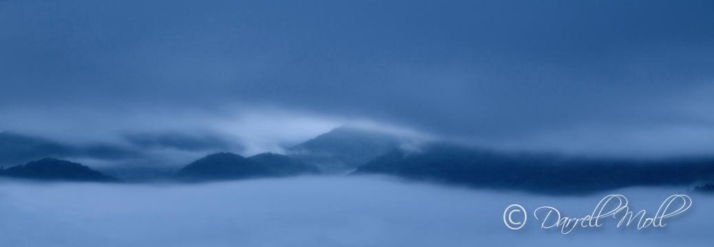Foothills in Fog