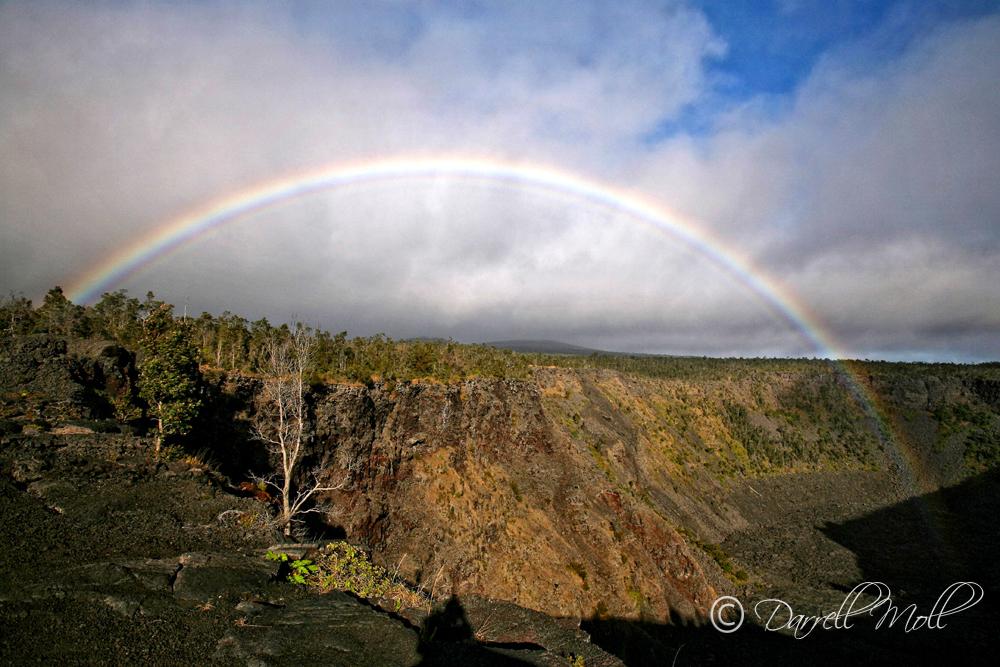 Rainbow & Lava Caldera