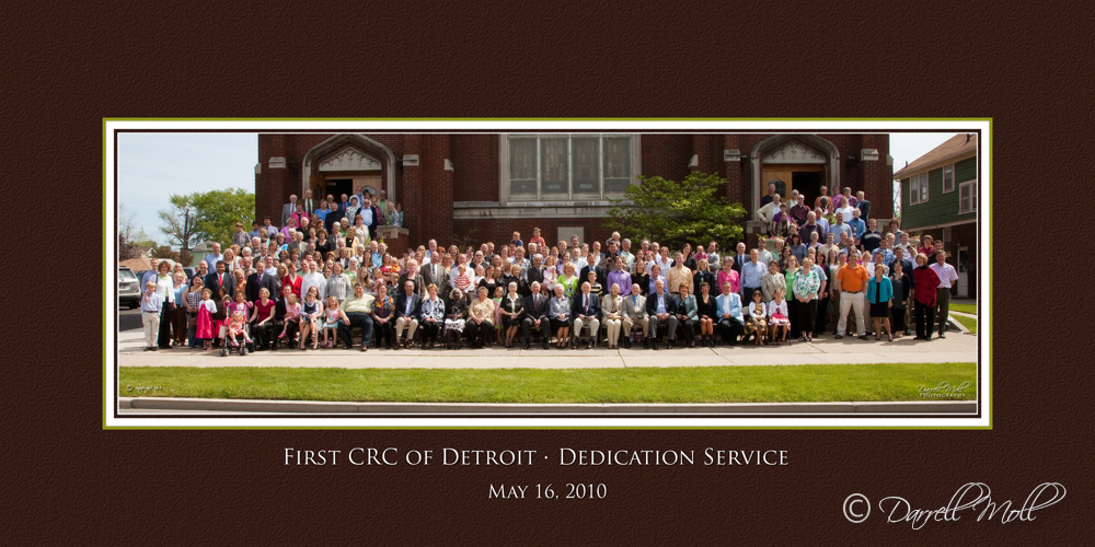 First CRC of Detroit Dedication Service